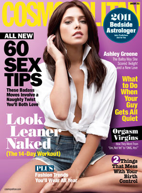 Ashley Green, Cosmopolitan Cover