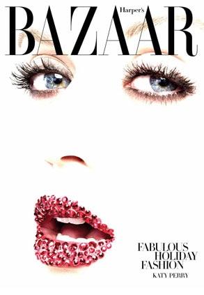 Katy Perry, Harpers Bazaar Cover