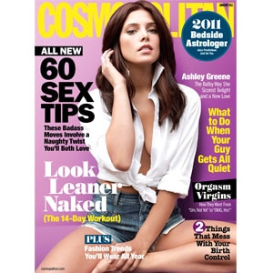 Ashley Green, Cosmopolitan Cover