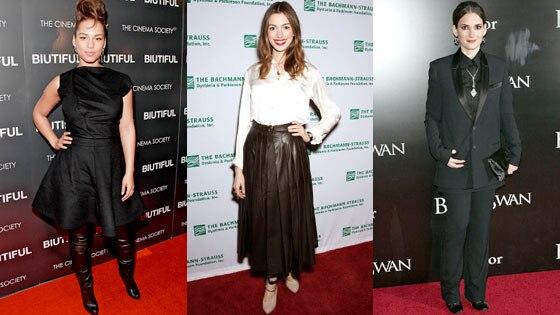 Alicia Keys, Anne Hathaway, Winona Ryder