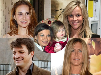 Natalie Portman, Reese Witherspoon, Castle, Nathan Fillion, Jennifer Aniston, Amber Portwood
