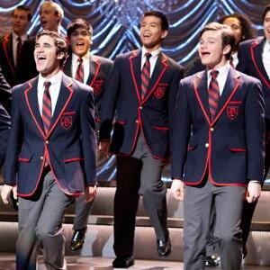 Glee, Darren Criss, Chris Colfer