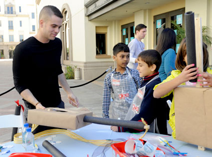 Glee Charity Event, Mark Salling