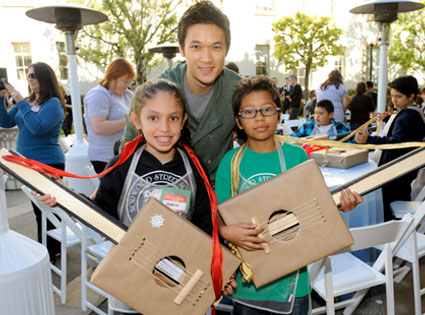 Glee Charity Event, Harry Shum Jr.