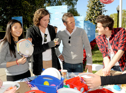 Glee Charity Event, Jenna Ushkowitz