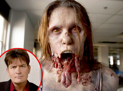 Walking Dead, Charlie Sheen