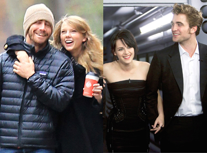 Taylor Swift, Jake Gyllenhaal, Robert Pattinson, Kristen Stewart