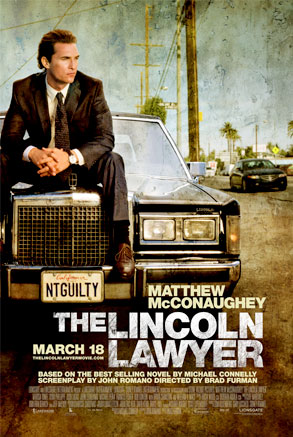 The Lincoln Lawyer, Poster