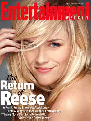 Reese Witherspoon, EW Cover