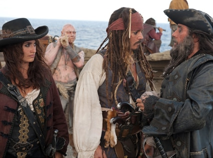 Johnny Depp, Penelope Cruz, Ian McShane, Pirates of the Caribbean on Stranger Tides