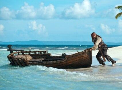 Johnny Depp, Pirates of the Caribbean on Stranger Tides