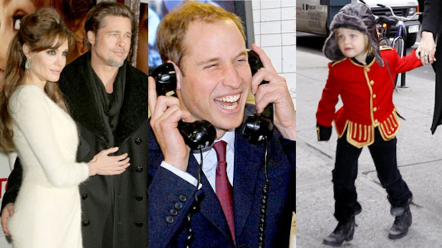 Angelina Jolie, Prince William, Shiloh Jolie-Pitt