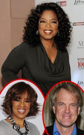 Oprah Winfrey, John Tesh, Gayle King