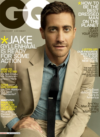 Jake Gyllenhaal, GQ cover **do not use till April 13th
