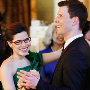 America Ferrera, Eric Mabius, Ugly Betty