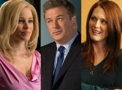 Elizabeth Banks, Alec Baldwin, Julianne Moore, 30 Rock