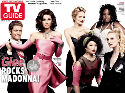 Glee, TV Guide Cover