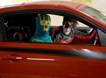 Kick-Ass, Aaron Johnson, Christopher Mintz-Plasse