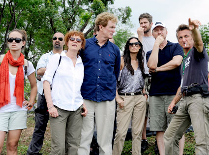 Olivia Wilde, Dr. Reza Nabavian, Susan Sarandon, Dr. Bob Arnot, Demi Moore, Gerard Butler, Paul Haggis, Sean Penn
