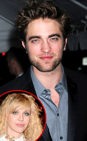 Robert Pattinson, Courtney Love