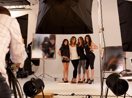 Kourtney Kardashian, Khole Kardashian, DASH Campaign