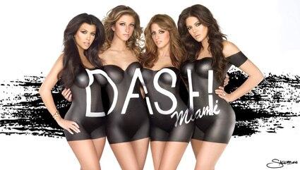 Kourtney Kardashian, Khloe Kardashian, DAHS Campaign
