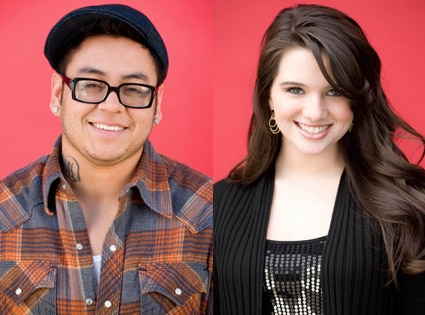 Andrew Garcia, Katie Stevens American Idol
