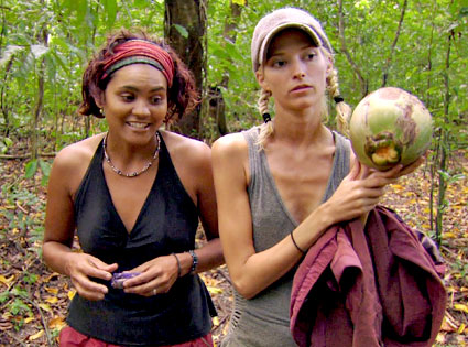 Sandra Diaz-Twine, Courtney Yates, Survivor: Heroes vs. Villians