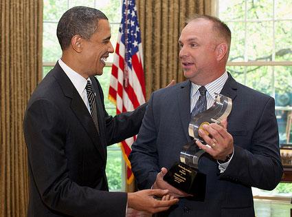 Barack Obama, Garth Brooks
