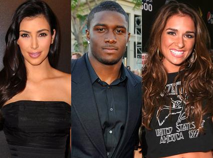 Kim Kardashian, Reggie Bush, Jessie James