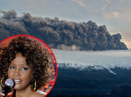 Whitney Houston, Iceland Volcano