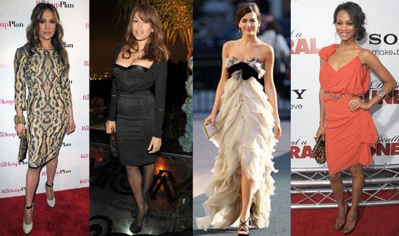 Jennifer Lopez, Eva Mendes, Camilla Belle, Zoe Saldana