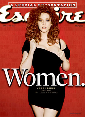 Christina Hendricks, Esquire Cover