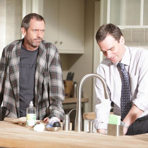 Hugh Laurie, Robert Sean Leonard, House