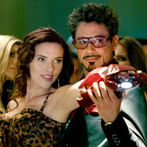 Iron Man 2, Scarlett Johansson, Robert Downey Jr.