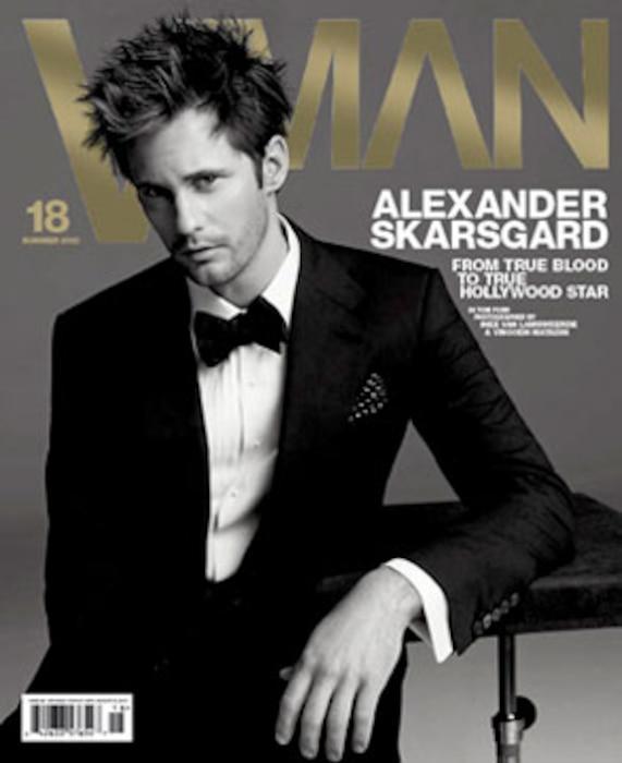 Alexander Skarsgard, VMAN Magazine