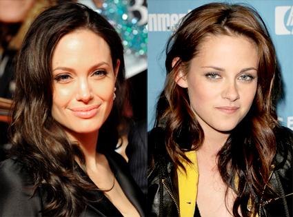 Angelina Jolie, Kristen Stewart