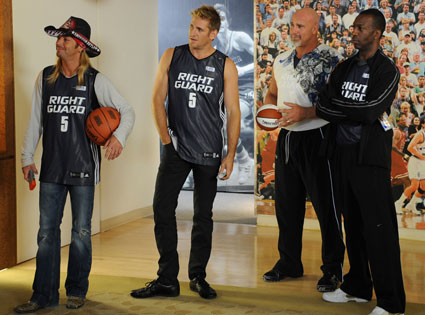 THE CELEBRITY APPRENTICE, Bret Michaels, Curtis Stone, Goldberg, Michael Johnson