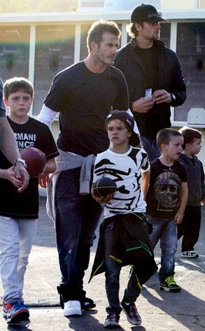 Tom Brady, David Beckham