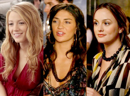 Gossip Girl, Blake Lively, Jessica Szohr, Leighton Meester