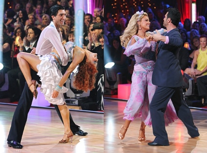 Evan Lysacek, Anna Trebunskaya, Kate Gosselin, Tony Dovolani, Dancing with the Stars