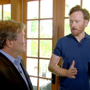 Conan O' Brien, Steve Kroft