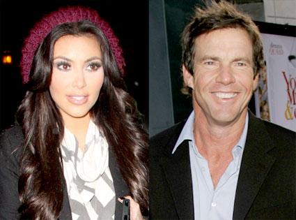 Kim Kardashian, Dennis Quaid