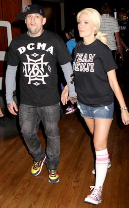 Benji Madden, Holly Madison