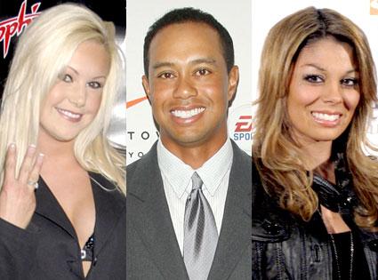 Jamie Jungers, Tiger Woods, Jaimee Grubbs