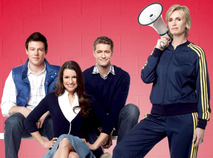 Corey Monteith, Lea Michele, Matthew Morrison, Jane Lynch, Glee