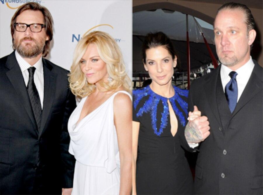 Jenny McCarthy, Jim Carey, Jesse James, Sandra Bullock
