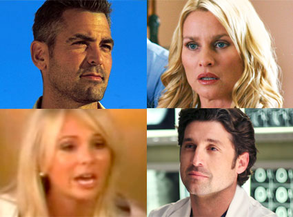 Nicollette Sheridan,  Desperate Housewives, George Clooney,  Three Kings, Patrick Dempsy, Greys Anatomy, Elizabeth Hasselbeck, The View