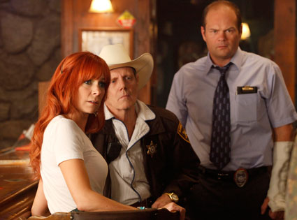 TRUE BLOOD, Carrie Preston, William Sanderson, Chris Bauer.