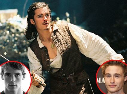 Orlando Bloom, Pirates of the Caribbean, Sam Claflin, Max Irons